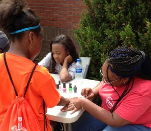 O'Neal Outreach Field Day at Hayes K-8